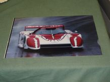 "MARCH 84G RED LOBSTER IMSA C.1986  at speed 12x8"" photo"